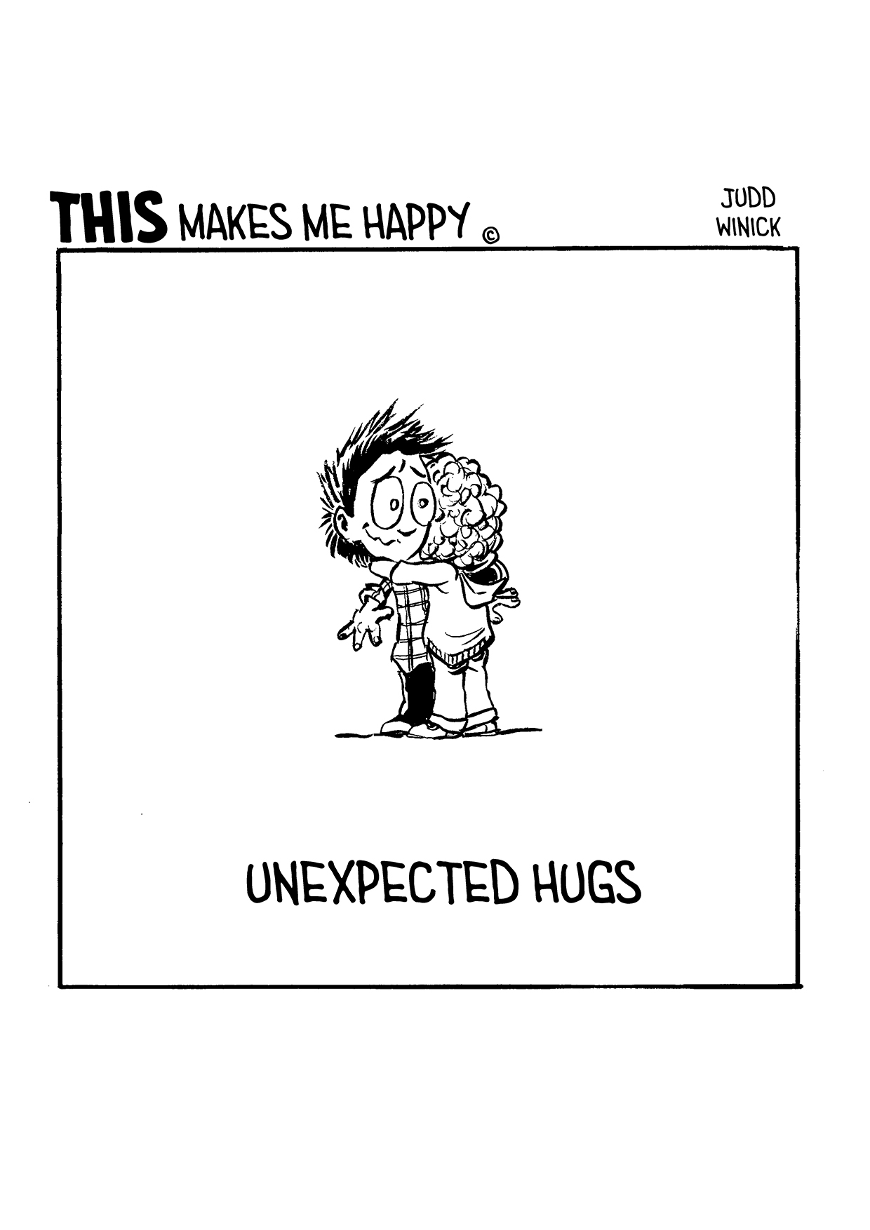 TMMH 58 unexpected hugs